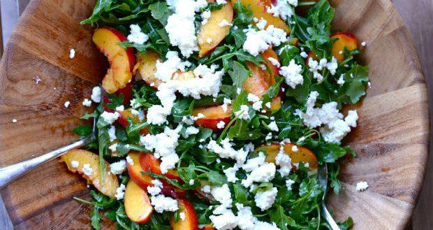 Salada com ricota