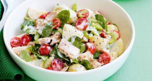 Salada de atum com batata