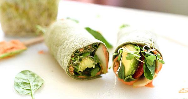 Wrap vegano