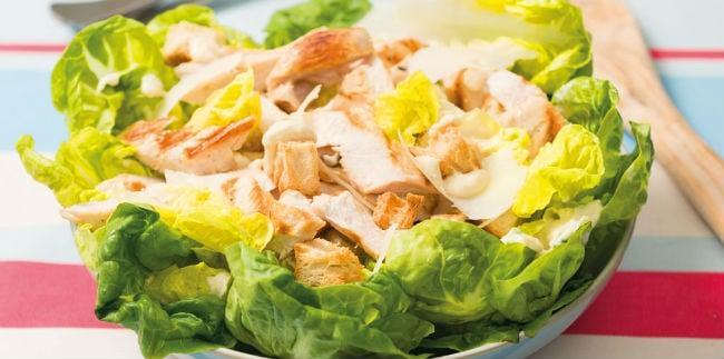 Caesar salad para diabéticos