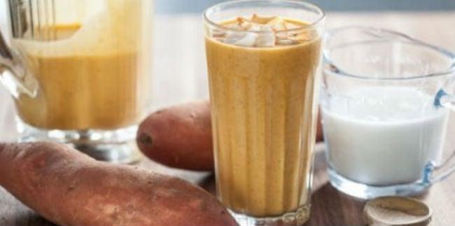 Shake de batata-doce