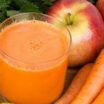 8 Receitas de Suco de Maçã Com Cenoura - Benefícios e Como Fazer