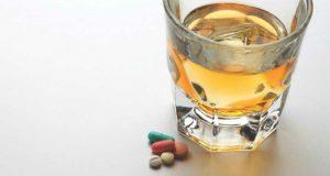 Remédios e álcool