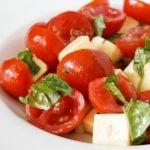 10 Receitas de Salada de Tomate-Cereja Light
