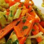 8 Receitas de Salada de Vagem com Cenoura Light