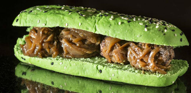 Sanduíche vegano