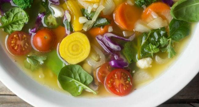 Receitas de comidas para dieta detox