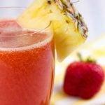 10 Receitas de Suco de Morango com Abacaxi para Emagrecer