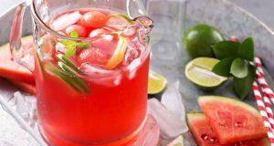 Suco de melancia detox