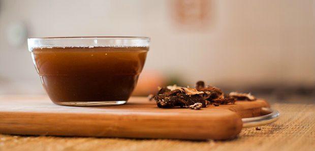 Chá de folha de tamarindo