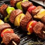10 Receitas de Espetinho de Carne Light