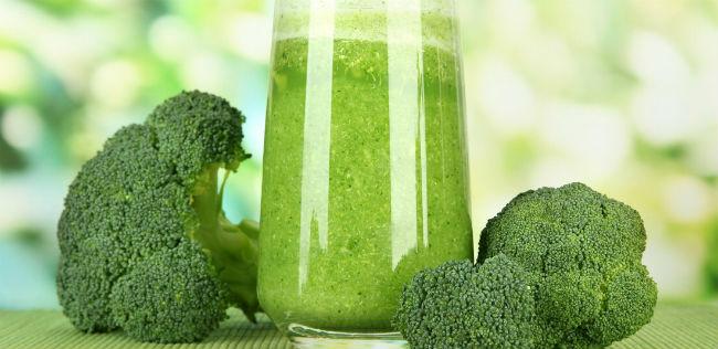 Suco de brócolis