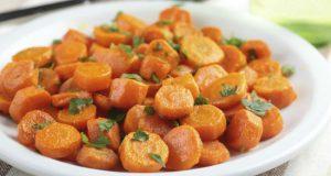 Cenoura cozida