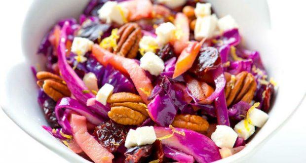 Salada de repolho doce