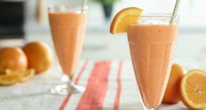 Shake de laranja