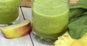 Suco de abacaxi com maçã