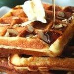 8 Receitas de Waffle Low Carb