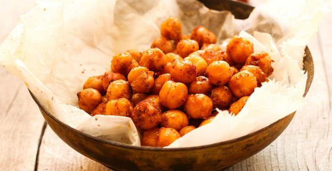 Chips de grão-de-bico