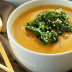 6 Receitas de Sopa de Abóbora com Couve Light