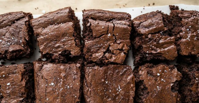 Brownie sem lactose