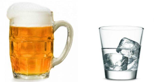 Cerveja ou vodka
