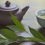 Chá de folha de louro