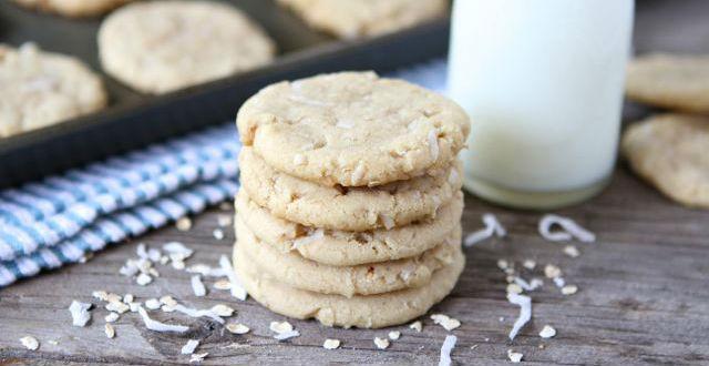 Cookies com óleo de coco