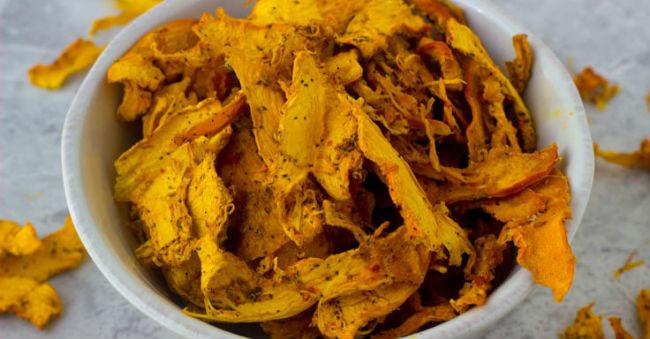 Chips de abóbora