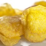 4 Receitas de Chips de Mandioquinha Light