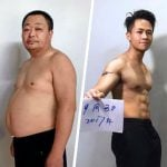 Fotos Incríveis Mostram Perda de Peso de Pai e Filho e Inspiram Famílias