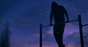 Treinando à noite