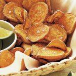 6 Receitas de Chips de Batata-Doce Fit