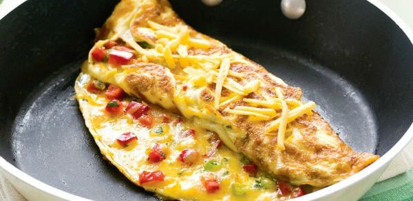Omelete low carb