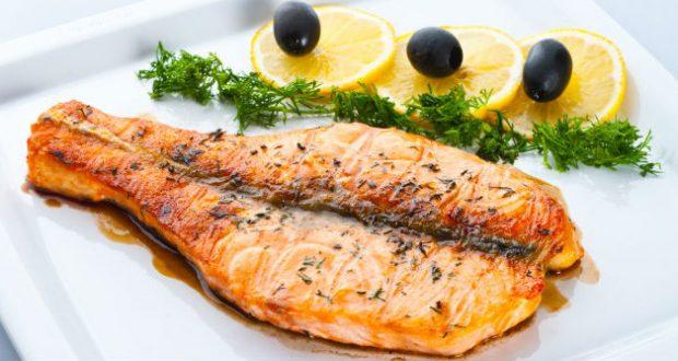 Prato com peixe