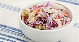 Salada de repolho com maionese light