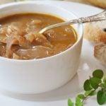 6 Receitas de Sopa de Cebola Simples Light
