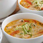10 Receitas de Sopa de Frango Desfiado Light