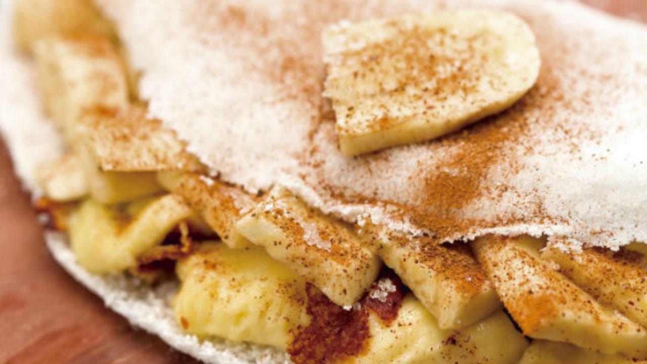 6 Receitas de Tapioca de Banana Fit - MundoBoaForma.com.br