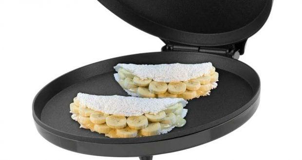 Tapioca na sanduicheira