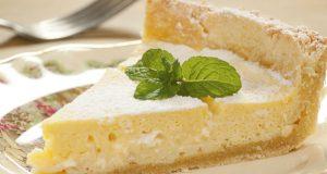 Torta de limão vegana