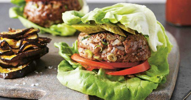 Hambúrguer de alface