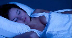 Dormindo no escuro