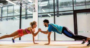 Exercício em casal