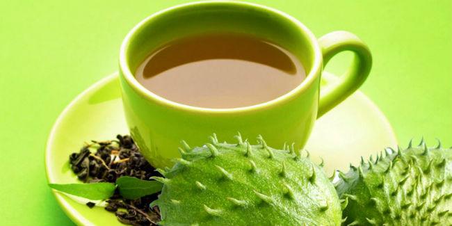 Chá de graviola