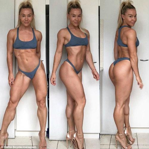 Modelo que sufría de anorexia y pesaba 26 kg cuenta cómo se recuperó 12
