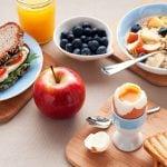 Café da manhã pré-treino