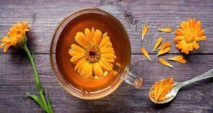 Chá de calêndula