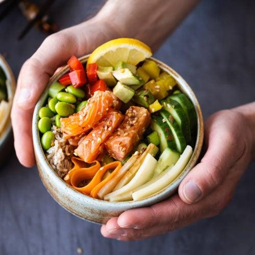 alimentos saudáveis refeição