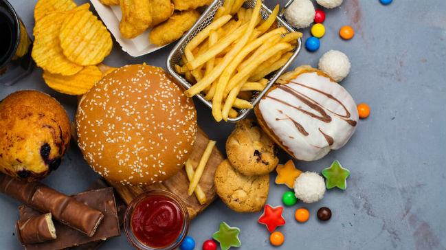 Piores alimentos para a saúde