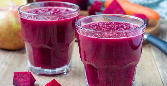 Suco para anemia